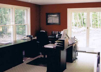Nh loridan construction building and remodeling on the for Home office additions